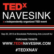 TEDXNAVESINK BRINGS WORLD-LEADING TEDTALKS TO MONMOUTH COUNTY