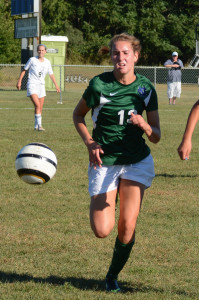 COLTS NECK GIRLS' SOCCER TEAM STARTS SEASON WITH OVERTIME VICTORY By Les Pierce