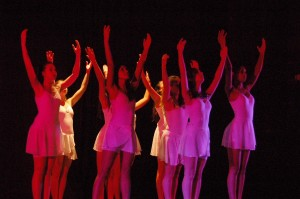 RED BANK CATHOLIC DANCE COMPANY DEDICATED TO BREAST CANCER AWARENESS