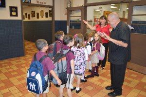 SAINT LEO THE GREAT SCHOOL WELCOMES STUDENTS AND CHANGE