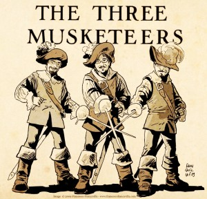Award-Winning RFH Tower Players to Present - The Three Musketeers -- All Swash and No Buckle