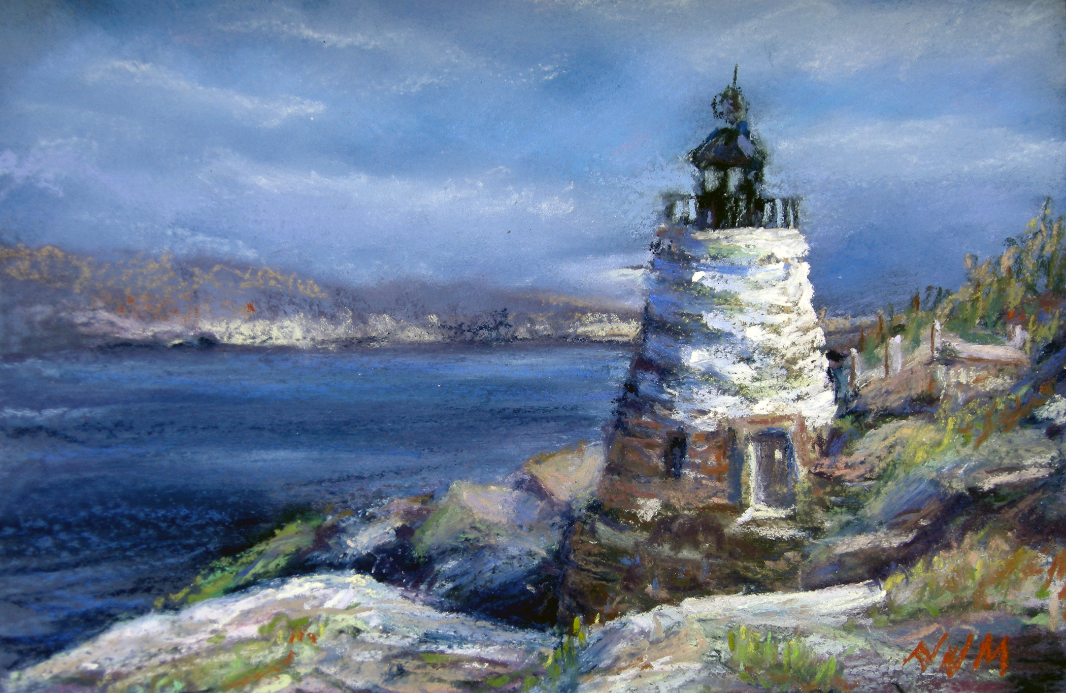 "THE MIDDLETOWN ARTS CENTER (MAC) HOSTS THE 11TH PLEIN AIR PAINTERS OF THE JERSEY COAST'S ANNUAL MEMBER SHOW, ""COAST TO COAST"""