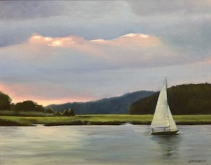 """THE MIDDLETOWN ARTS CENTER (MAC) HOSTS THE 11TH PLEIN AIR PAINTERS OF THE JERSEY COAST'S ANNUAL MEMBER SHOW, """"COAST TO COAST"""""""