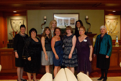 2014 Collier Gala steering committee (left to right):  Sr. Debbie Drago, Ada Sabol, Karen Stackhouse, Robin Graham, Dianne Baccala, Eve DeCarlo, Angela Ricciuti, and Georgiana Ryan.