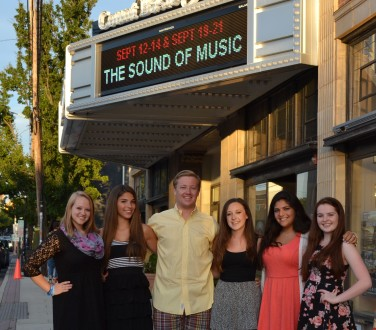 Pictured are the six RBR VPA students who will appear in the Phoenix production of Roger & Hammerstein's Sound of Music at the Count Basie Theatre. The show runs September 12 through 14 and again on September 18 through 21. They are (left to right) : Dana Brown, Union Beach, ensemble, Jillian Lamanno, Little Silver, ensemble, Bobby Davis, Shrewsbury, portrays Rolf, Eliana Swartz, Little Silver, portrays Liesl, Jaclyn Gisondi, Shrewsbury, ensemble and Victoria Aumack, Union Beach also in the ensemble.