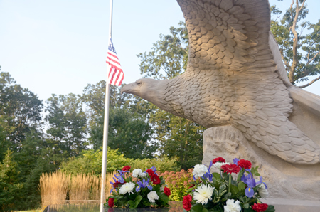 Monmouth County's 9/11 Memorial is located at Mount Mitchill Scenic Overlook, Atlantic Highlands, New Jersey. The Monmouth County Park System will host a 9/11 Memorial Ceremony at Mount Mitchill on Thursday, September 11 at 8:00 a.m.