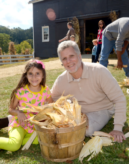 A corn-husking competition will be part of the Harvest Home Festival, held on Sunday, September 28 from 11 a.m. to 5 p.m. at Historic Longstreet Farm, Holmdel.